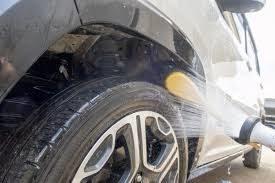 タイヤ洗い方